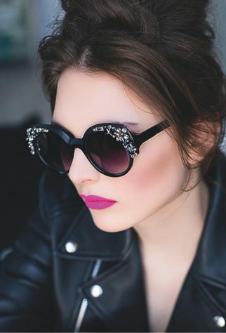 Okulary Tiffany Strass